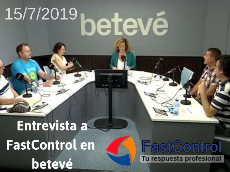 Entrevista a FastControl en El Matí de Barcelona (betevé) 15-07-2019